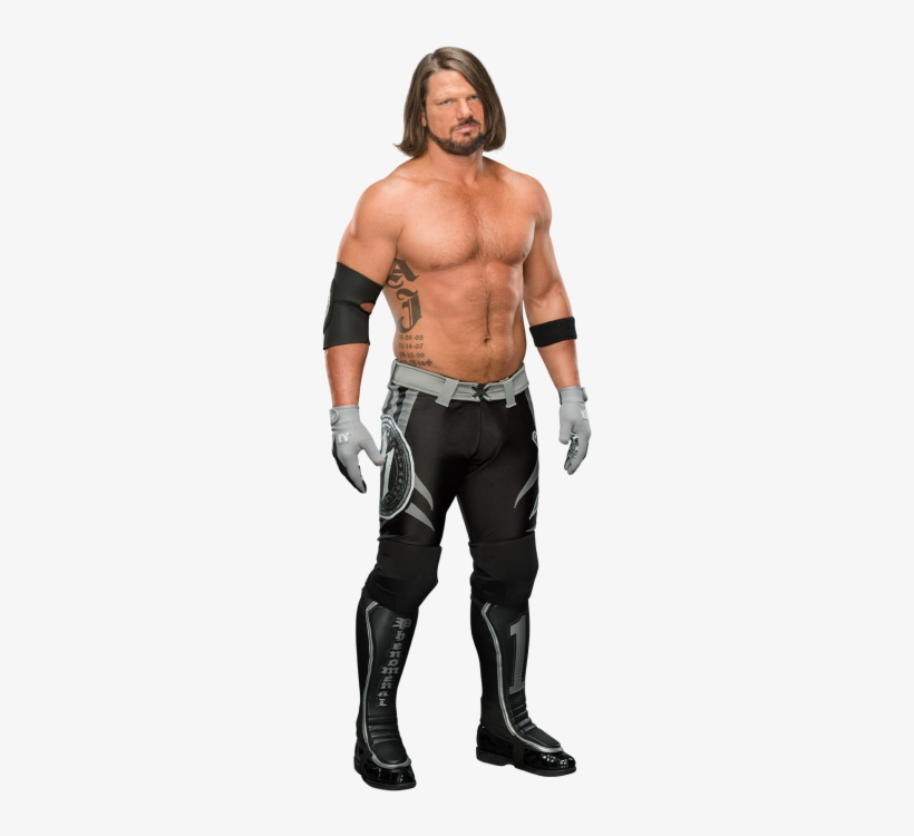Aj Styles - Charlotte Flair And Aj Styles, transparent png #124528