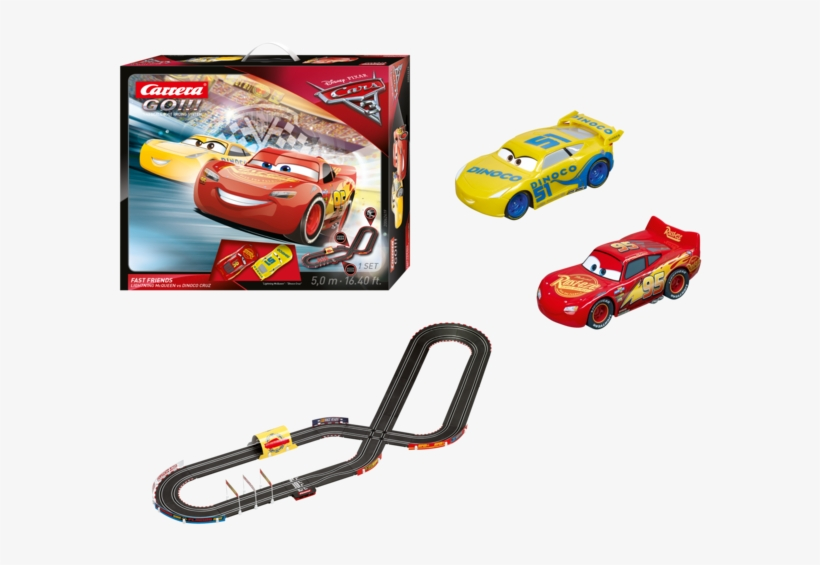 Carrera Go Disney/pixar Cars 3 Fast Friends Slot Car - Carrera Go. Disney Pixar Cars 3 Fast Friends 20062419, transparent png #124547