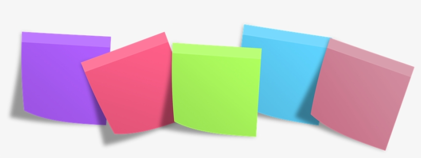 Postit Memo Post It Notes Memory Isolated - Post It Notes Png, transparent png #125695