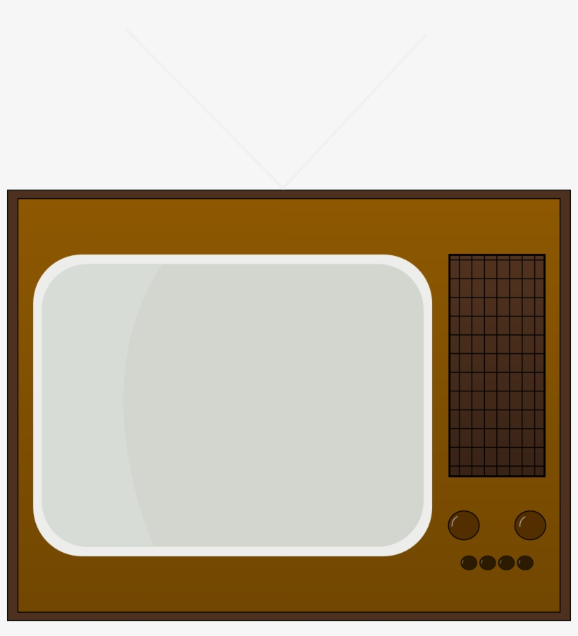Old Tv Cliparts - Retro Tv Clipart, transparent png #126183