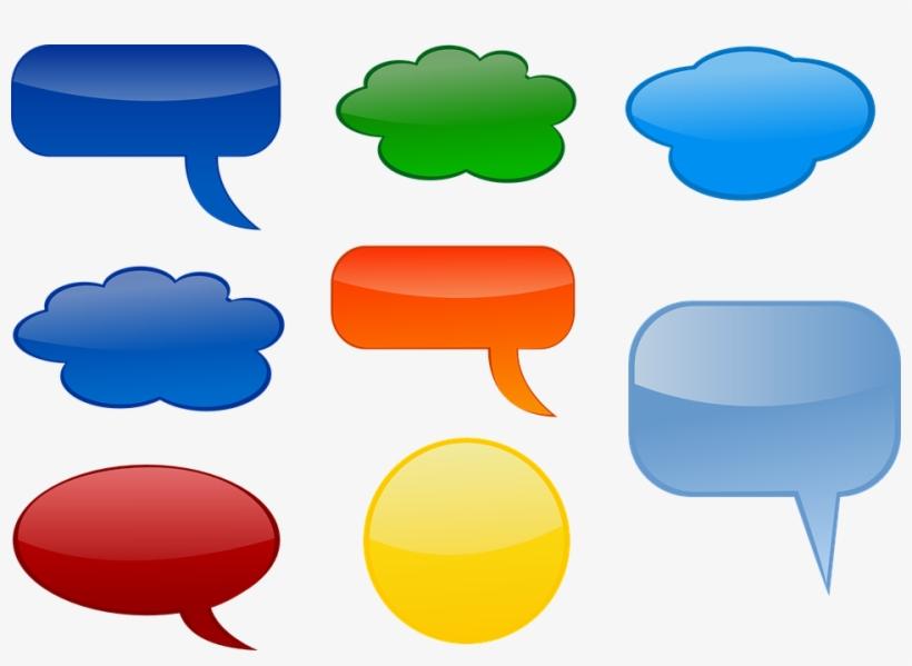 Speech Bubble Images - Talking Bubbles, transparent png #126233