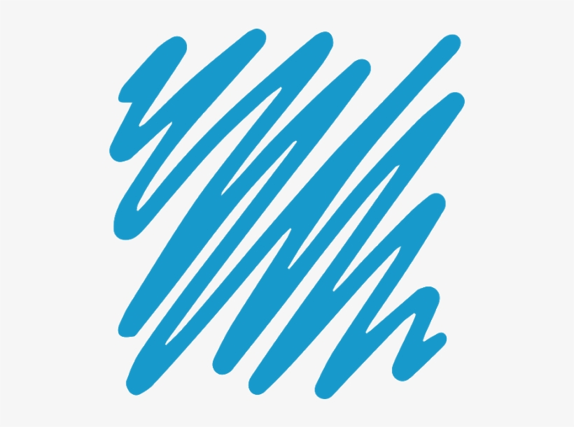 Blue Scribble Png, transparent png #126539