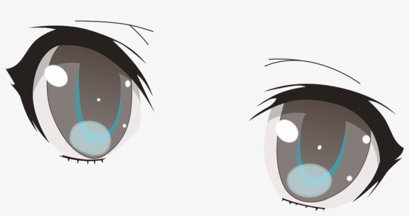 Evil Anime Eyes Png - Anime Eyes Transparent Background, transparent png #127581