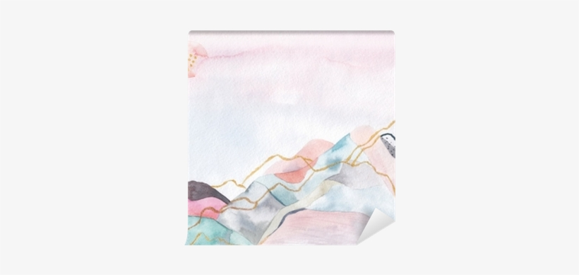 Abstract Watercolor Background - Watercolor Painting, transparent png #128183