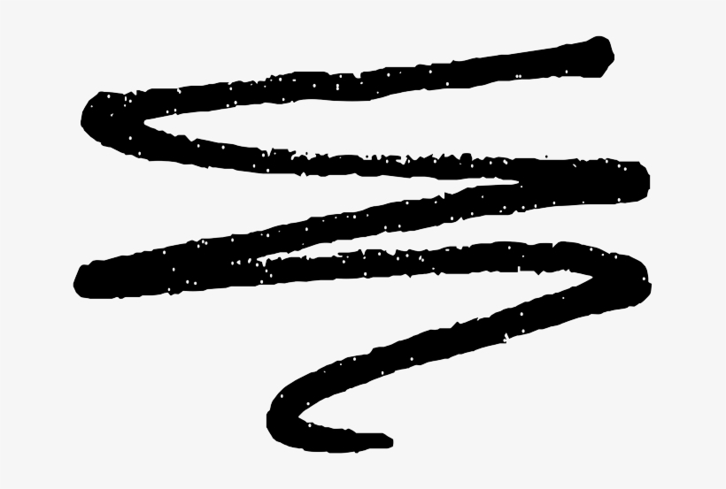 To The Nfl Draft - Scribble Line Png, transparent png #128545