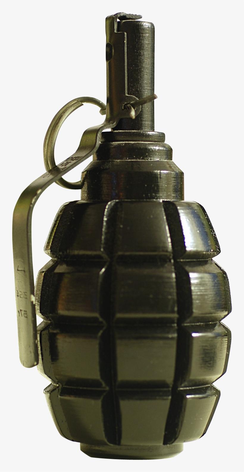 Hand Grenade Png Transparent Image - Grenade Png, transparent png #129502