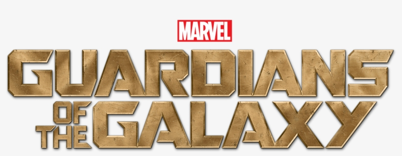 Guardians Of The Galaxy Logo - Guardians Of The Galaxy Title Transparent, transparent png #129505