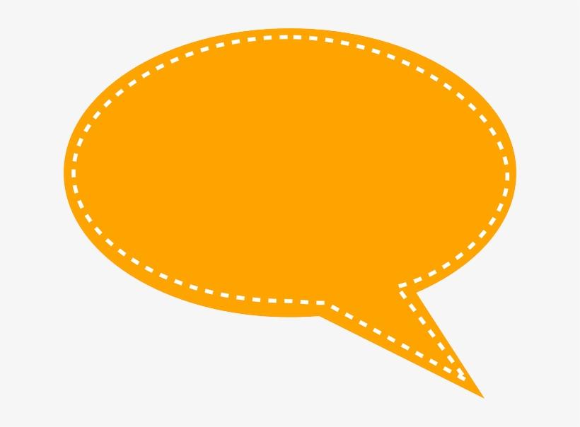 Bubble Speech Png - Yellow Speech Bubble Png, transparent png #129628