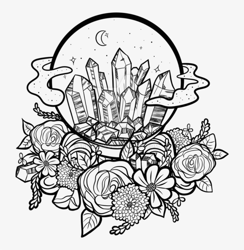 Crystal Ball Drawing At Getdrawings - Crystal Ball Line Drawing, transparent png #129748