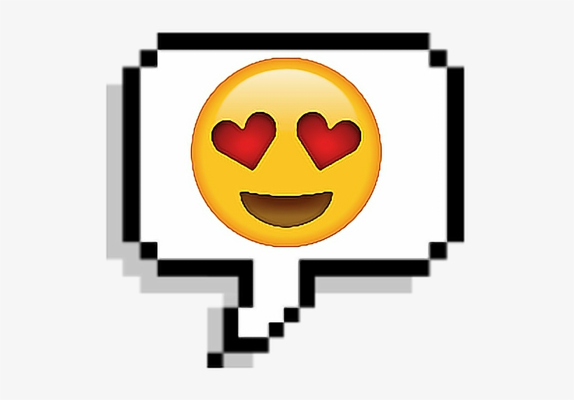 Tumblr Corazon Emoji Sticker Enamorado Pixel Stickers Tumblr De