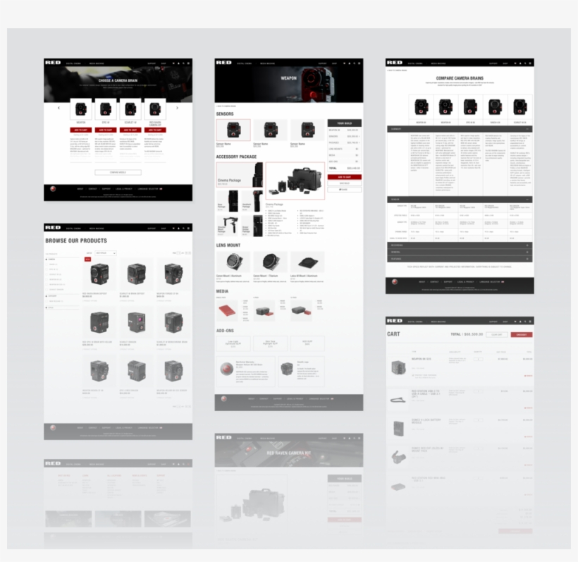 E-commerce Wireframes - E-commerce, transparent png #1203813