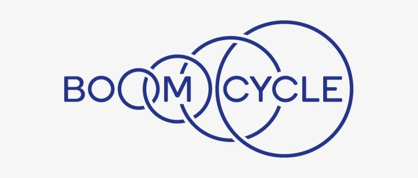 Boom-cycle Logo Blue Cmyk - Boom Cycle Logo, transparent png #1207075