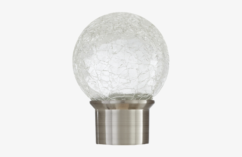 Crackle Glass Ball - Crackle Glass Finials - Free Transparent PNG