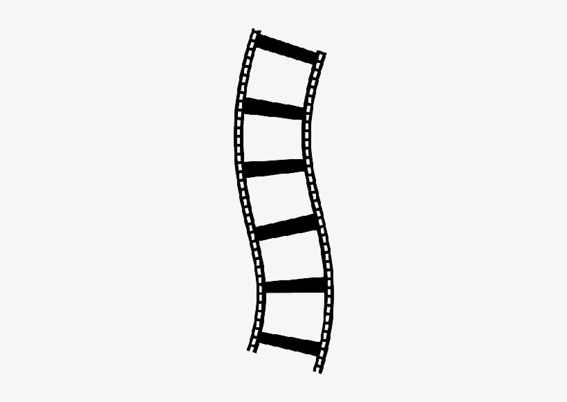 Electronics - Red Film Strip Png, transparent png #1208510