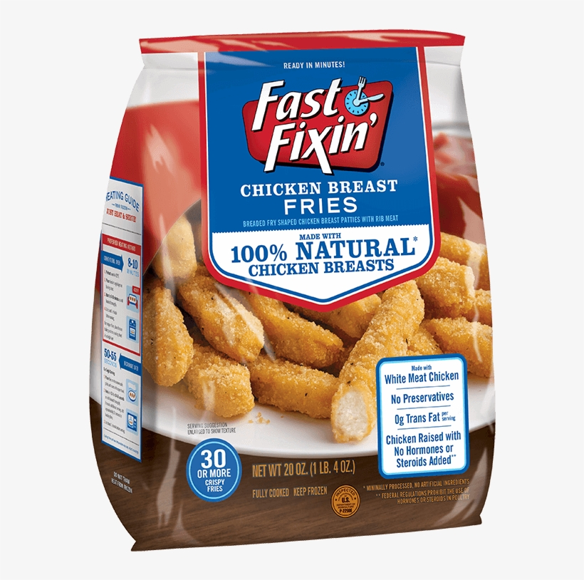 Chicken Breast Fries - Fast Fixin Chicken Fries, transparent png #1208768