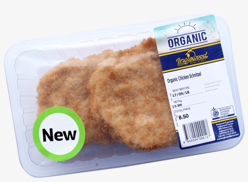 Organic Chicken Breast Schnitzel Chicken As Food Free