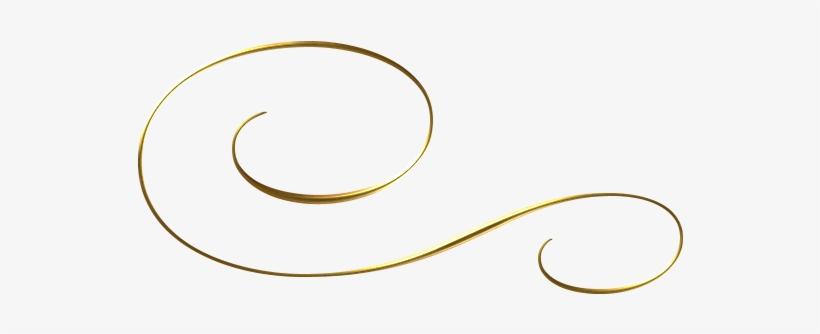 Lineas Decorativas Doradas Png