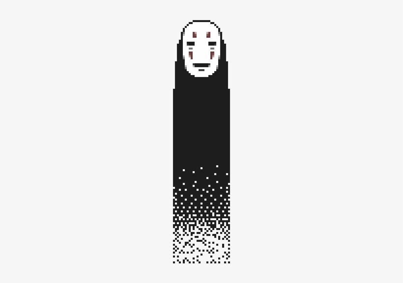 No Face Spirited Away Tumblr Illustration Free Transparent Png Download Pngkey
