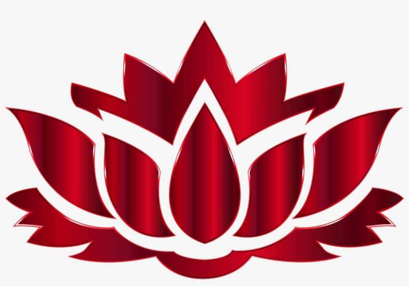 28 Collection Of Red Lotus Flower Drawing Red Lotus Flower Clipart