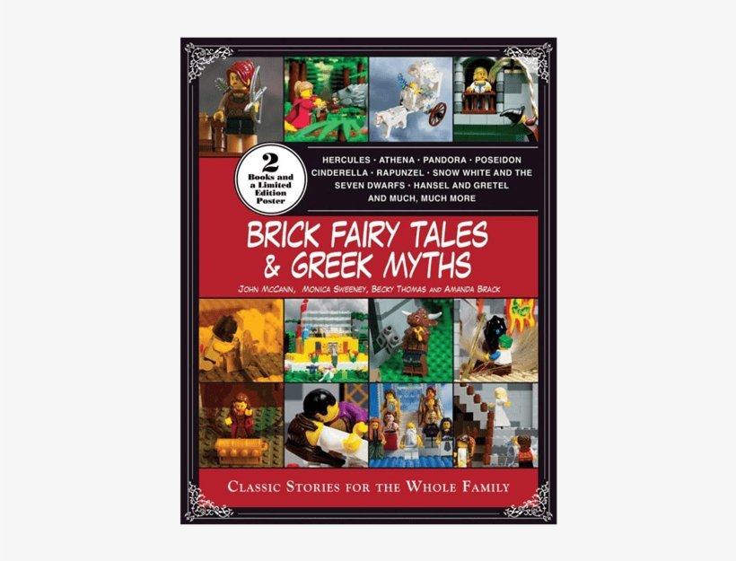 Brick Fairy Tales And Greek Myths - Brick Fairy Tales And Greek Myths: Box Set By Amanda, transparent png #1212179
