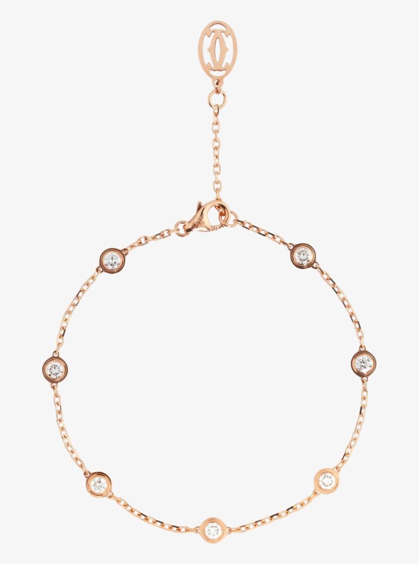 590131 - Scale - 314 - High 655×1,024 Pixels - Diamants Légers De Cartier 18ct Rose-gold Bracelet,, transparent png #1212581