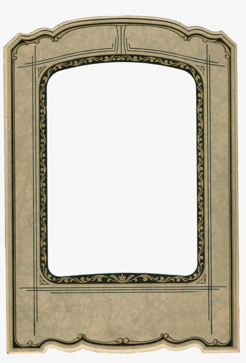 Antique Photo Frame - Vintage Frames Photo Mats, transparent png #1213573