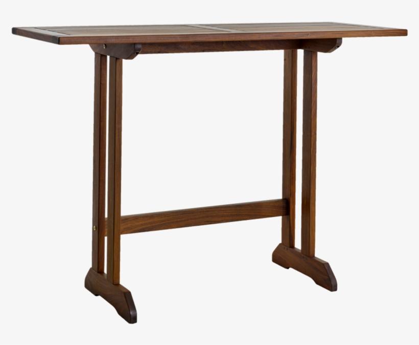 Richmond Wood Balcony Set - Slim Standing Desk, transparent png #1213893