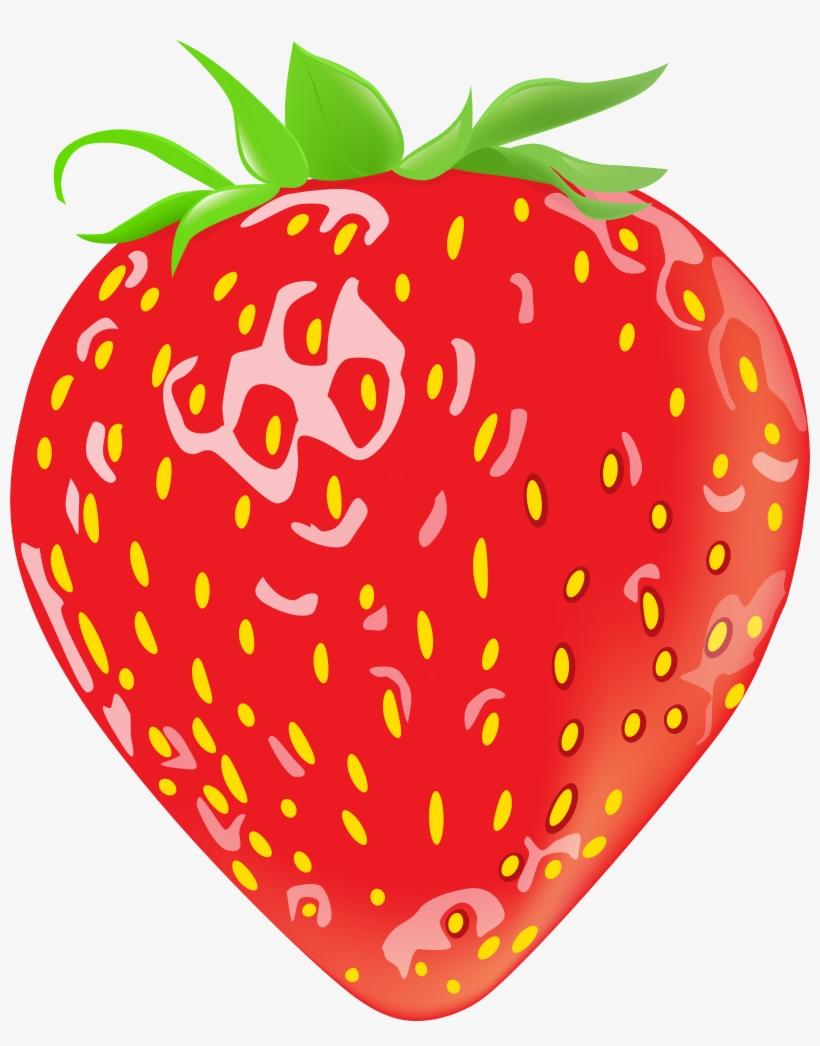 Imagem De Frutas Morango 3 Png Morango Desenho Png Free