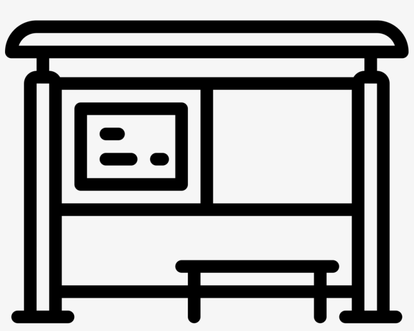 Bus Stop - - Bus Stop Icon Png - Free Transparent PNG