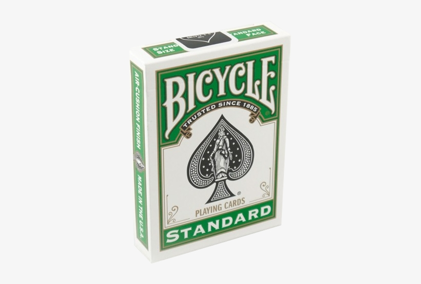 Playing Cards Bicycle Green Back - Bicycle Playing Cards, transparent png #1216589
