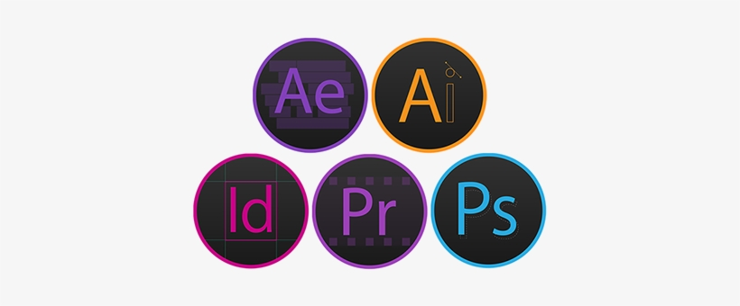 Adobe Cc Icons Png - Adobe Photoshop Icon Png, transparent png #1217110
