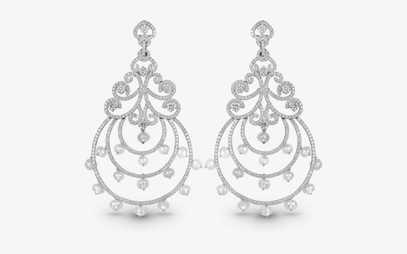Chandelier Diamond Earrings, transparent png #1217428