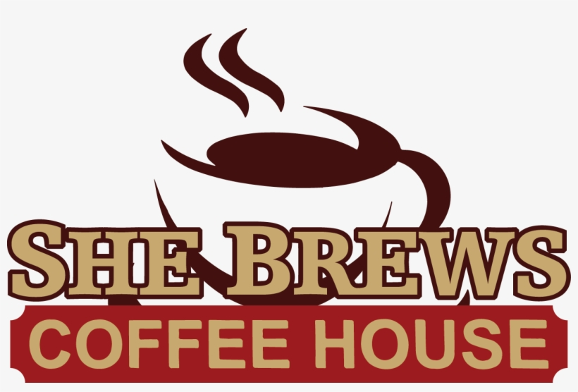 Join Us For A Ribbon Cutting On Tuesday, April 4th - She Brews Coffee House, transparent png #1218221