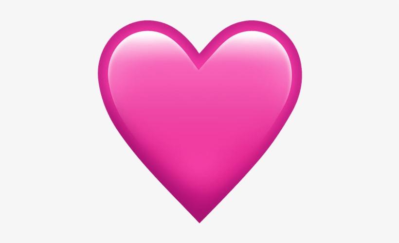 Pink Heart Emoji Png, transparent png #1218576