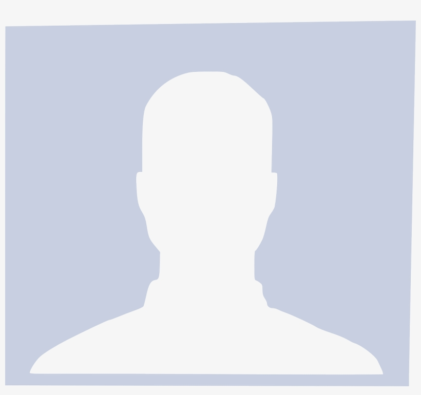 Small - Facebook No Profile Picture Girl, transparent png #1219160