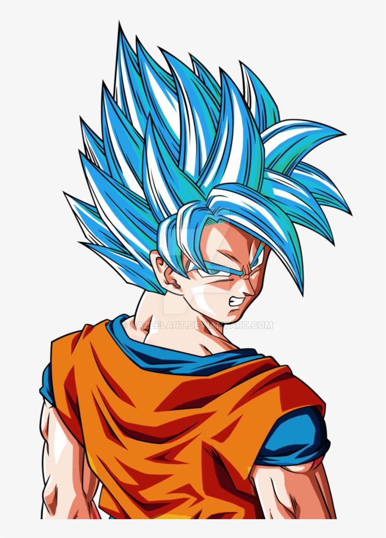 Goku Super Saiyan Hair Png - Son Goku Super Saiyan God Super Saiyan, transparent png #1219976