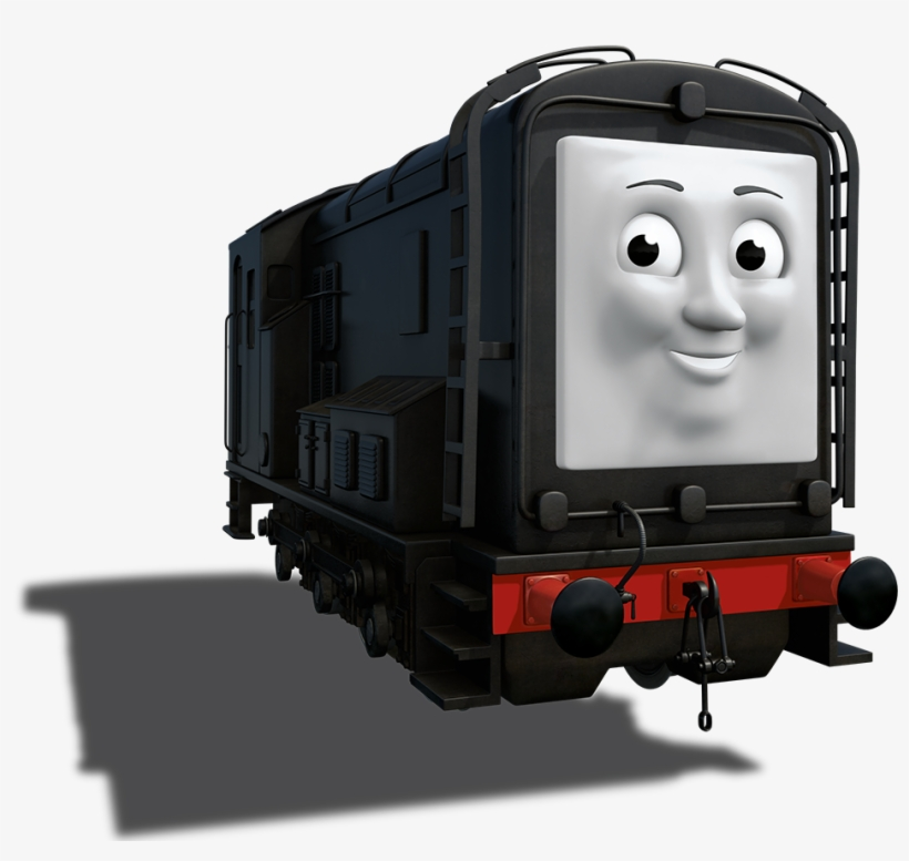 Thomas E Seus Amigos Diesel Free Transparent Png Download Pngkey