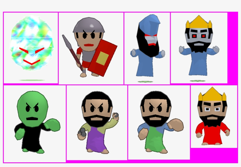 Click For Full Sized Image Enemies, transparent png #1222149