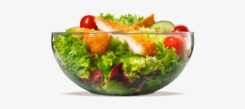 Our Garden Grilled Chicken Salad Is A Crisp Bed Of - Iceberg Lettuce Cheese Salad, transparent png #1223341
