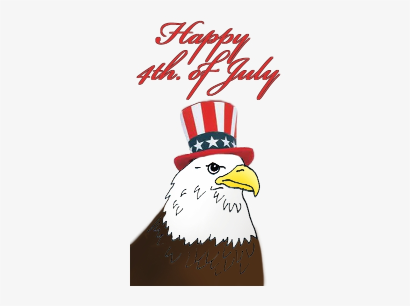 4th of july eagle. Clipart th free transparent