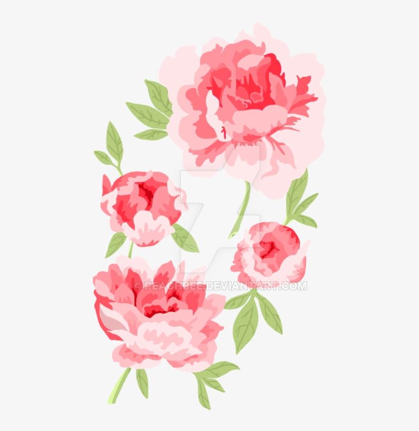 Tattoos Transparent Peony - Lineless Rose Tattoo, transparent png #1229134