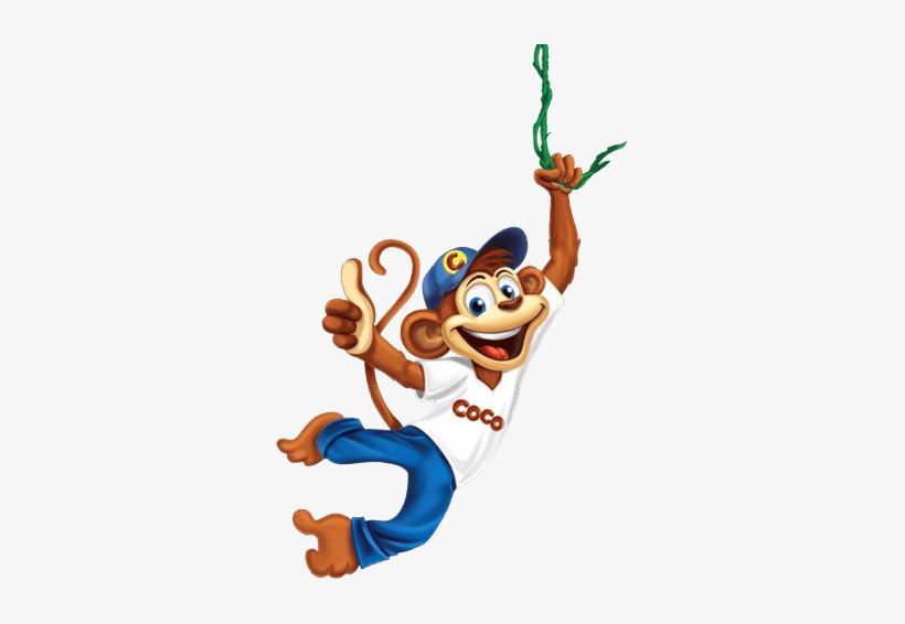 Coco Monkey - Kellogg's Coco Pops 375g, transparent png #1230129