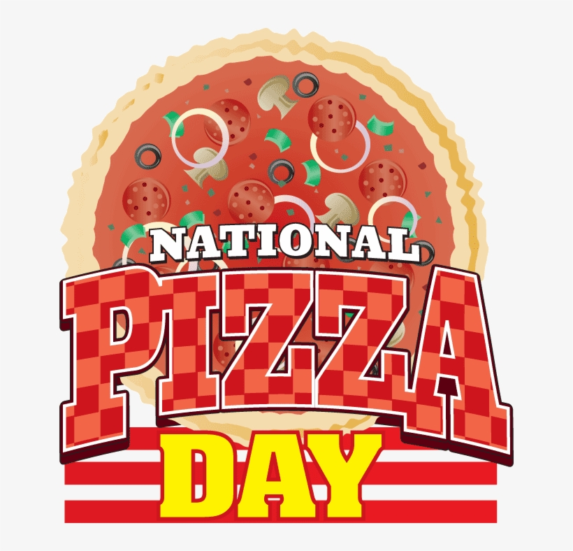 National Pizza Day - Free Transparent PNG Download - PNGkey
