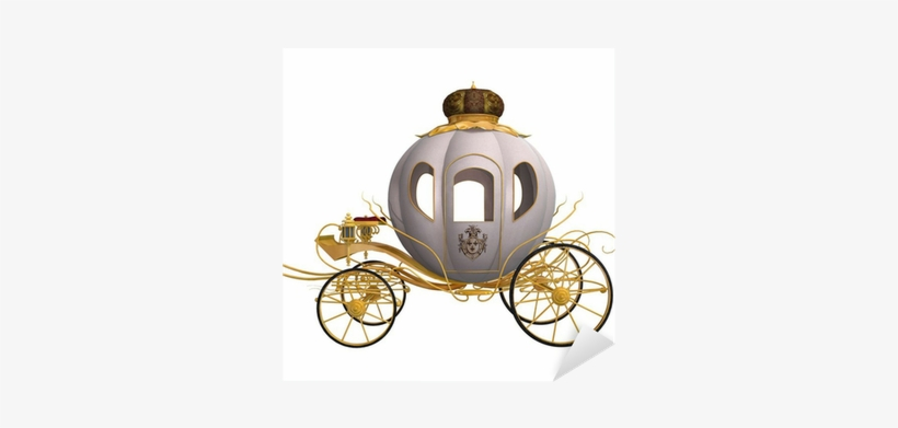 Cinderella Carriage Png Download - Cinderella's Carriage In White Background, transparent png #1231739