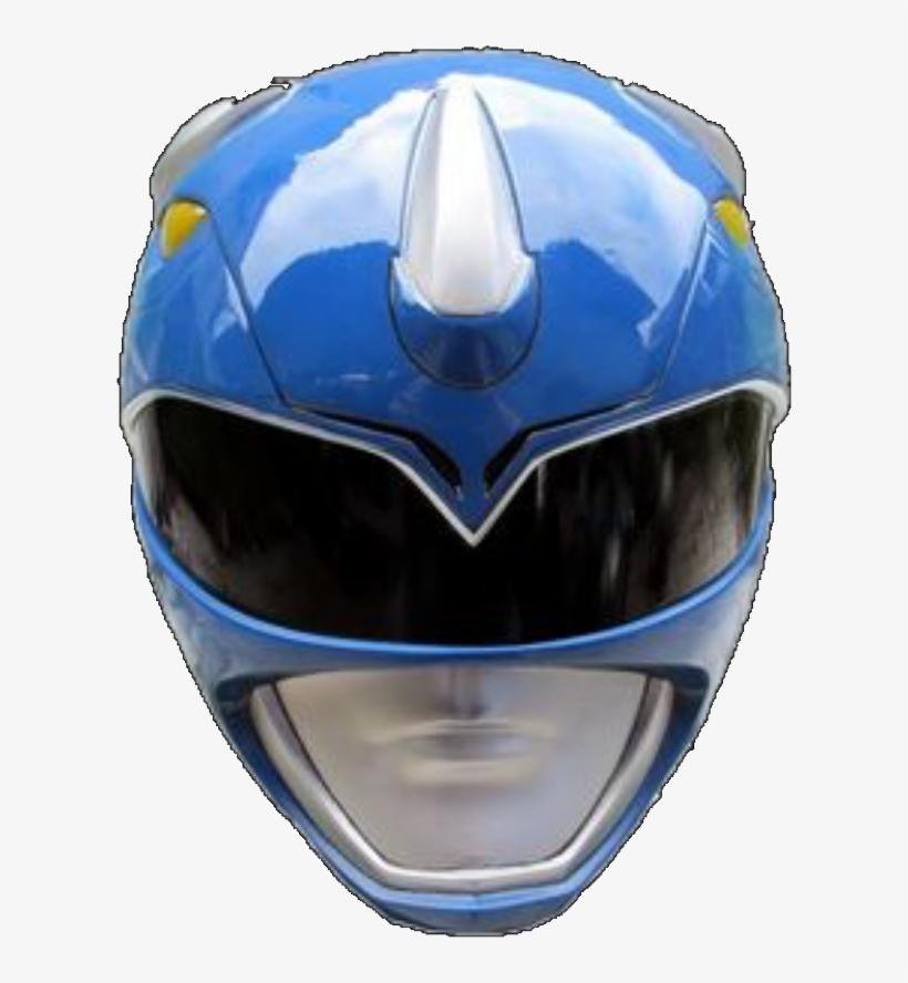 Mighty Morphin Blue Ranger Helmet - Mighty Morphin Power Rangers Blue Ranger Helmet, transparent png #1231741