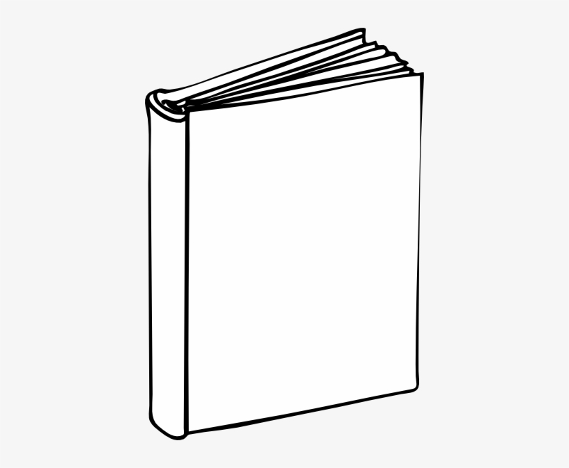 Template book. Blank clip art at