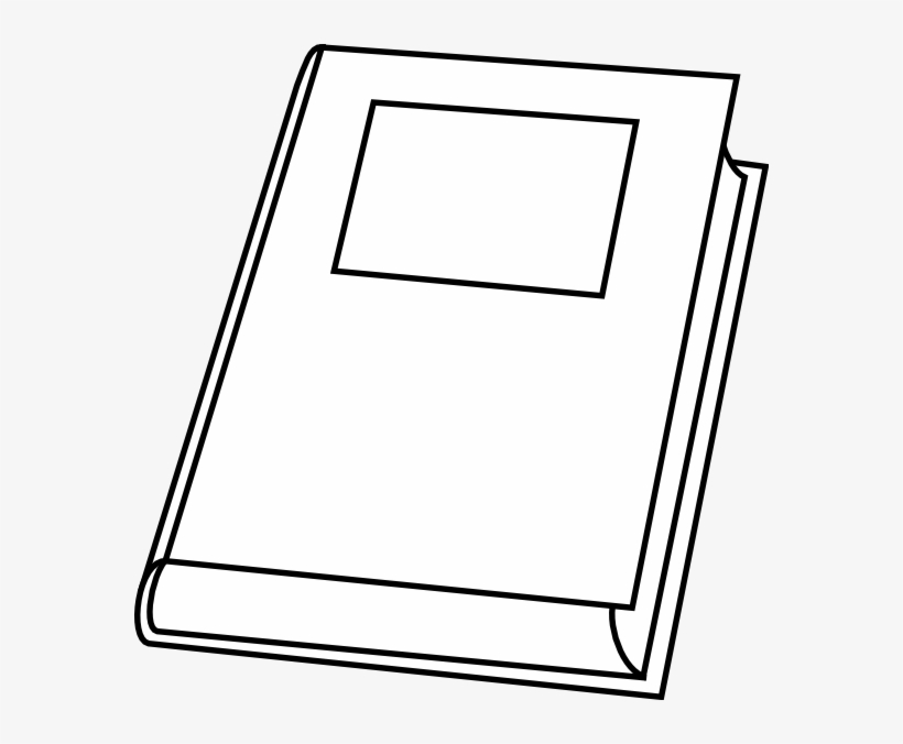 Book vector. Clipart outline free transparent