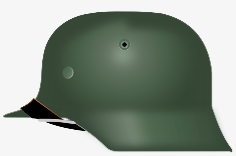 This Free Icons Png Design Of German World War 2 Helmet, transparent png #1232307
