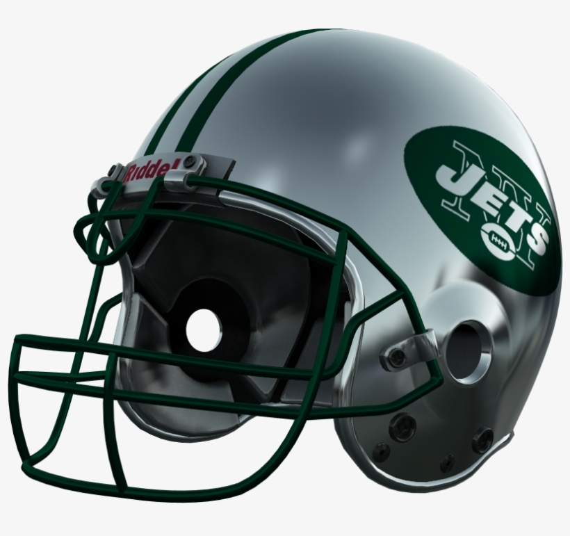 New York Jets, New York Jets - Football Helmet Falcons Png, transparent png #1232482