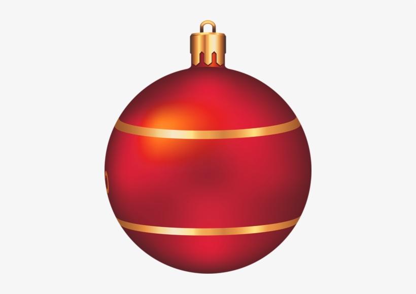 Ball Clipart Ball Christmas - Red Christmas Ball Clip Art, transparent png #1232640